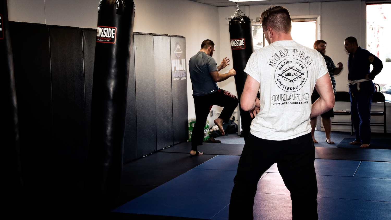 Fighters training at Resurgence MMA in Appleton, Wisconsin